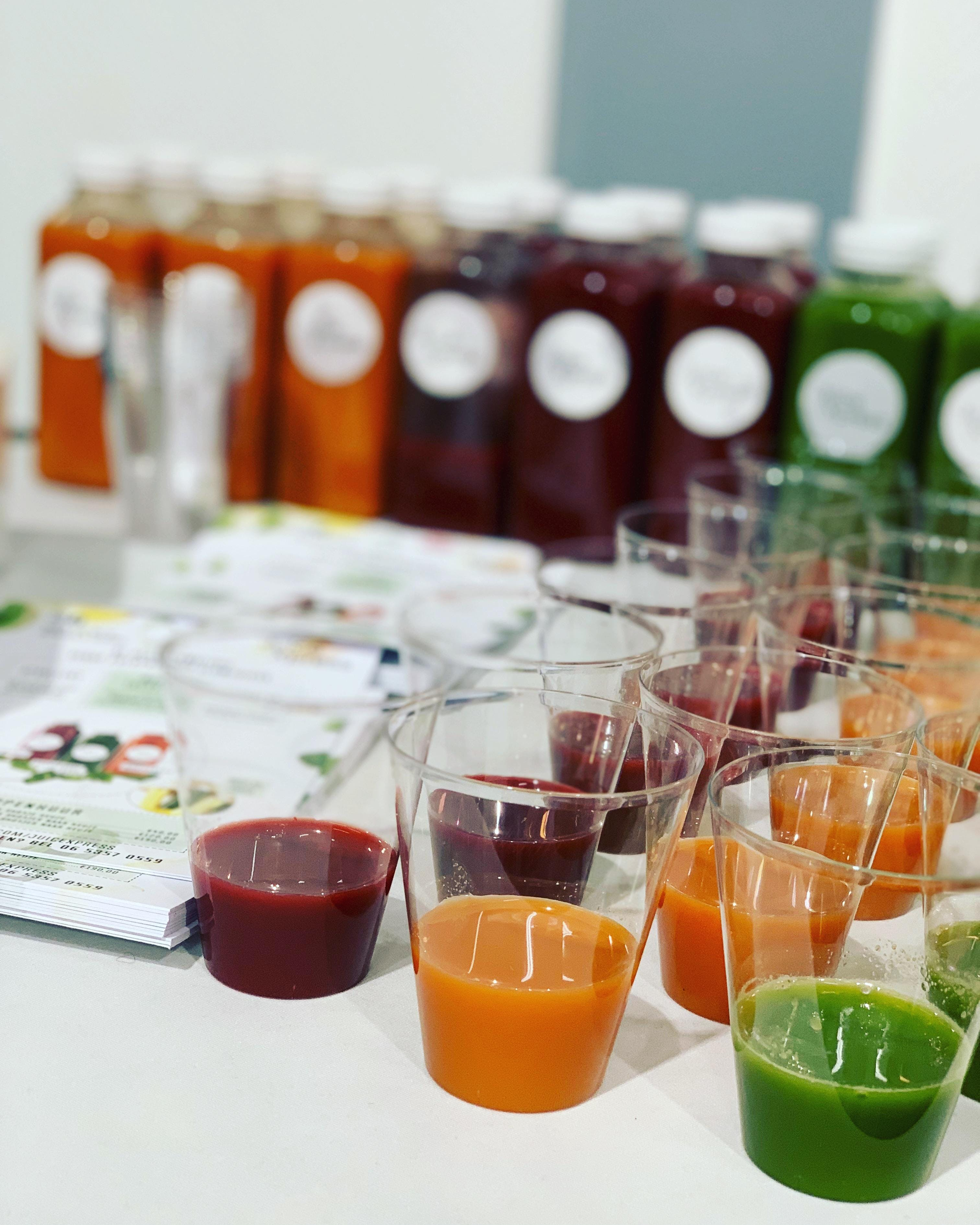 Juiceworkshop NU incl ééndaagse kuur twv €40,