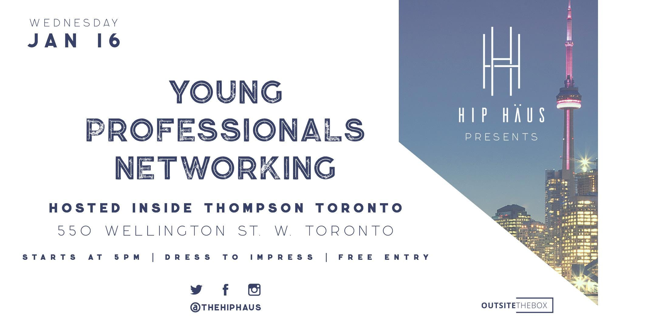 Young Professionals Networking by The Hip Hau