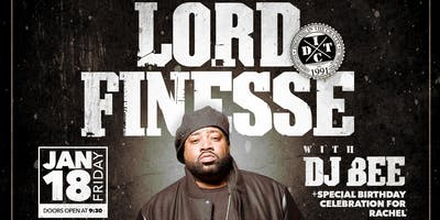 Lord Finesse and DJ Bee LIVE at FM