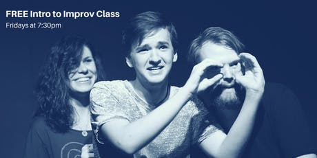 FREE Intro to Improv Class tickets