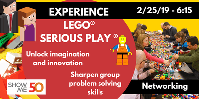 ShowMe50 Lean In Circle: Networking LEGO® SERIOUS PLAY®