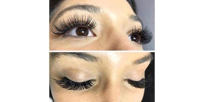 Classic & Volume EyeLash Extension COMBO class- Los Angeles, CA