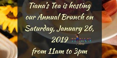 Tiana's Tea Annual Brunch