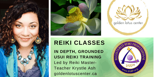 Reiki Level One Certification Class - Edmonton @ Grow Center