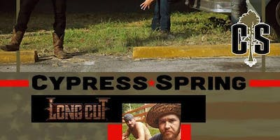 BPR ENTERTAINMENT PRESENTS: CYPRESS SPRING & LONGCUT WITH SPECIAL GUESTS