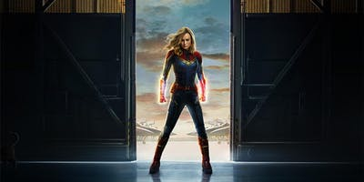 "Comic Time Kino-Action ""Captain Marvel\"""
