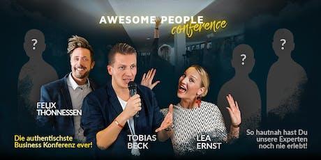 APC V Frankfurt: Tobias Beck, Felix Thönnessen, Lea Ernst + X Tickets