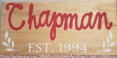 Make & Take Wood Signs 1/24