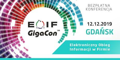 Bezpłatna konferencja EOIF - Elektroniczny Obieg Informacji w Firmie tickets