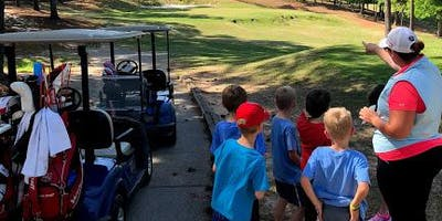 THURSDAY After School Golf Class Wee-Linksters (Ages 5-8) 1-Hour Class/4-Weeks