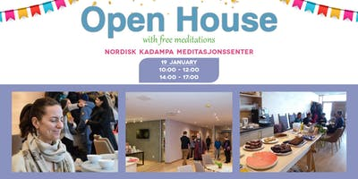 Open House with Free Meditations