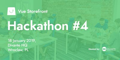 Vue Storefront Hackathon #4