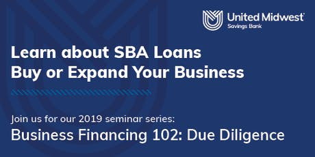2019 Financing a Purchase or Expansion of Your Business tickets