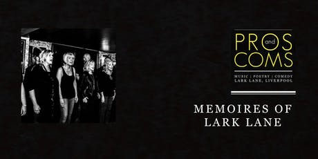 Memoire of Lark Lane - Live comedy tickets