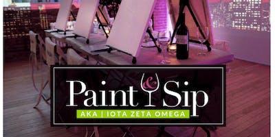 Paint & Sip w/AKA Iota Zeta Omega