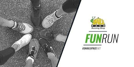 A Snail's Pace Running Shop Group Fun Run - Brea tickets
