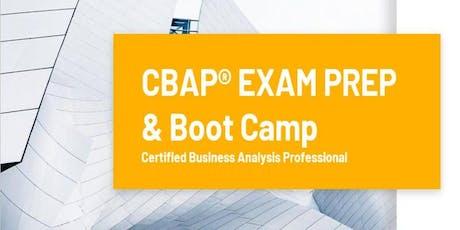 CBAP Certification Training Course Toronto, ON | CBAP Exam Prep & Boot Camp - Weekdays tickets