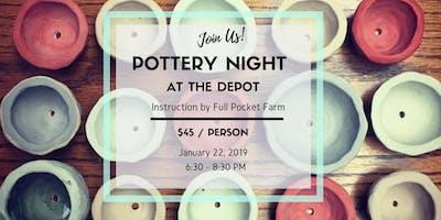 Pottery Night with Full Pocket Farm