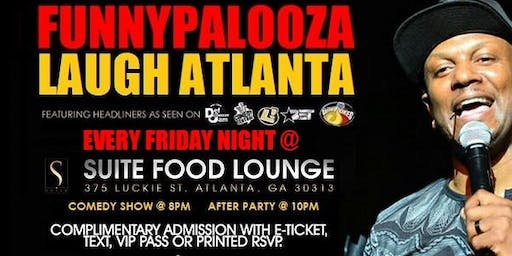 Funnypalooza at Suite Lounge