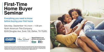 September First-Time Home Buyer Seminar