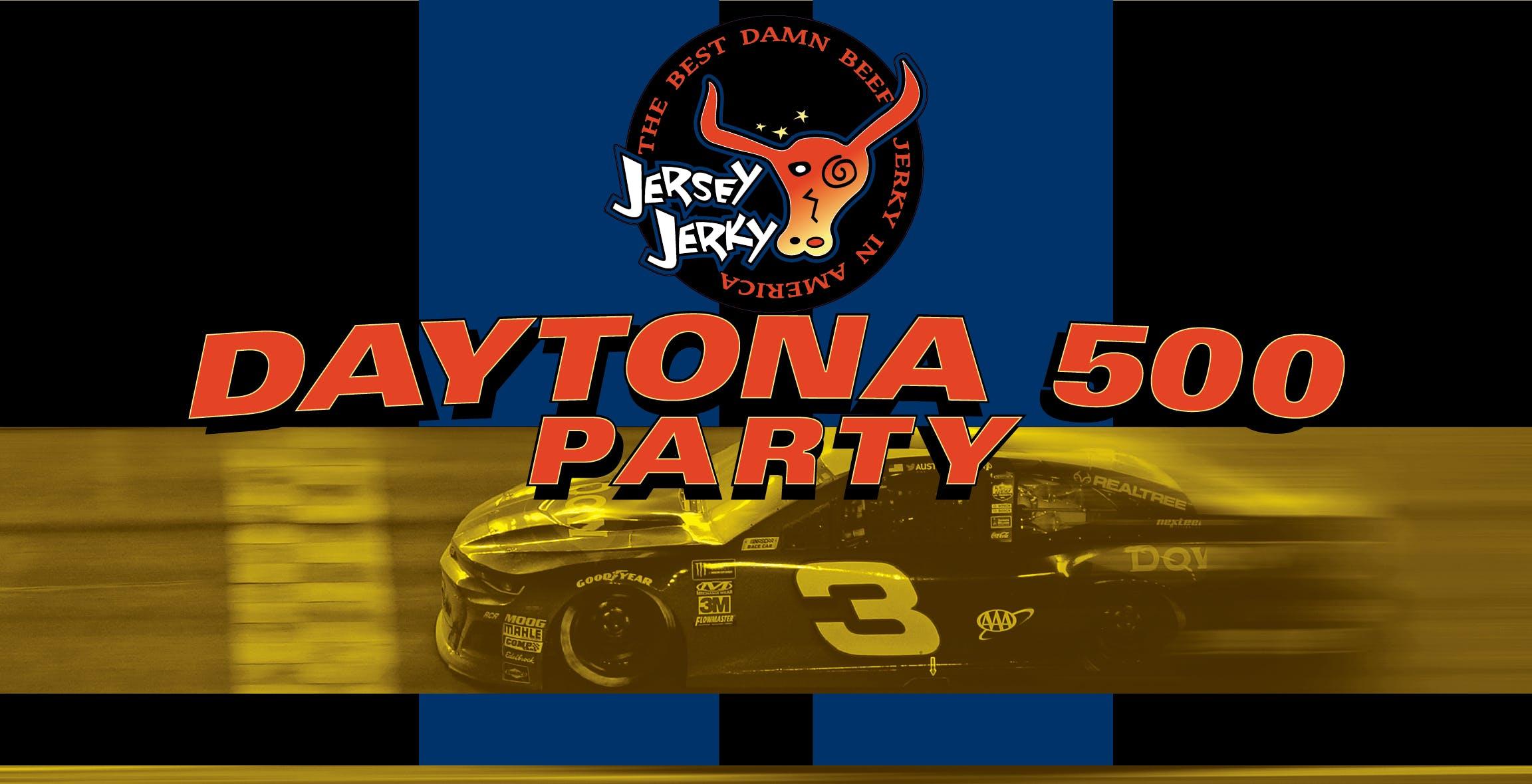 Jersey Jerky Daytona 500 Party