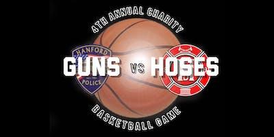 4th Annual Guns vs Hoses Charity Basketball Game