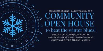 Community Open House- Beat the Winter Blues!