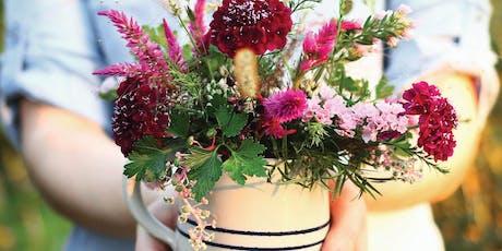 Hands-On Flower Arrangements tickets