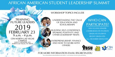 2019 African American Student Leadership Summit
