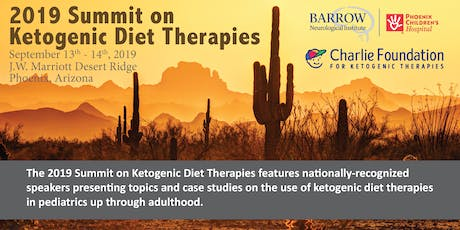 2019 Summit on Ketogenic Diet Therapies tickets