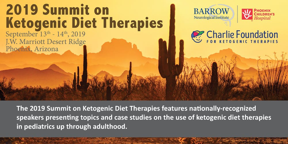 2019 Summit on Ketogenic Diet Therapies Registration
