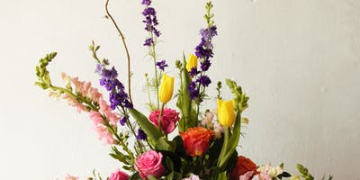 Flower Class: Spring Vase Arrangement