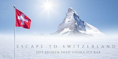 2019 Broken Shed Vodka Ice Bar