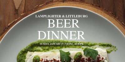 Littleburg Beer Dinner with Lamplighter Brewing Co.