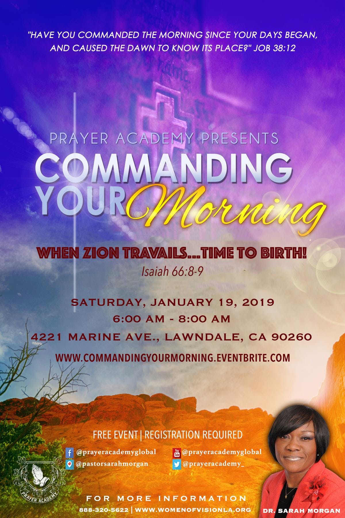 Commanding Your Morning | When Zion Travails