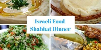 Communal Friday Night services & Dinner - Israeli Food