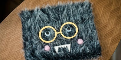 Kids' Make It Club:  Furry Monster Notebook
