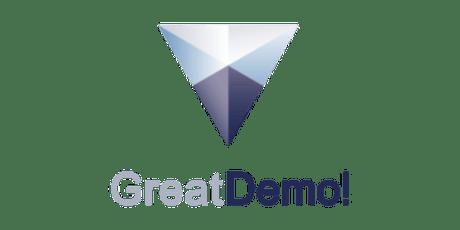 Great Demo! Workshop on Oct 2&3, 2019 tickets