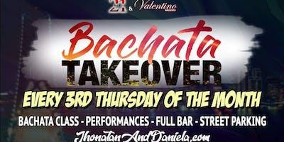 Bachata Takeover Third Thursday