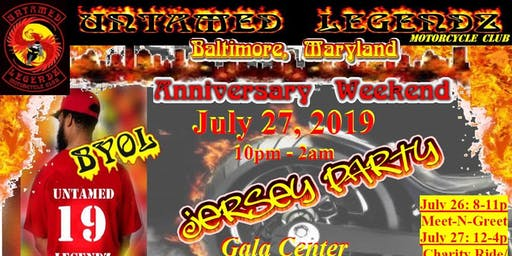 ULMC 2019 Anniversary Jersey Party-Baltimore, MD