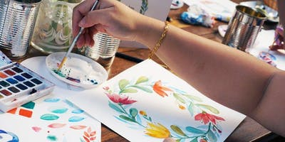 Let Your Creativity Flow (Free Drawing and Watercolor Corner)