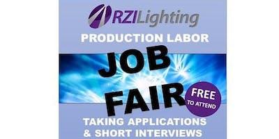 Production Labor Job Fair