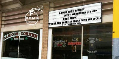 F Bomb Presents: Laugh with Dignity! A Free Comedy Show