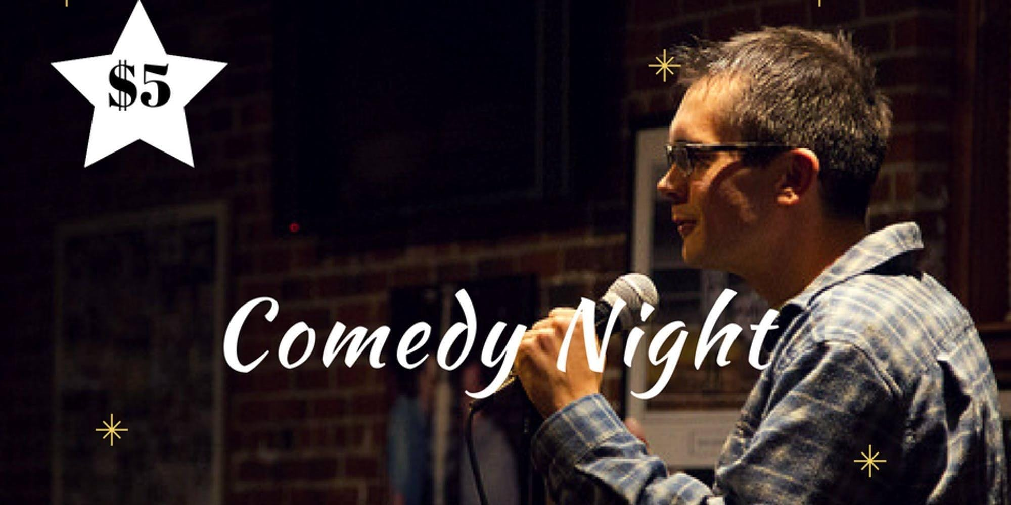 Comedy Night at Sixth Gear Saturday January 1