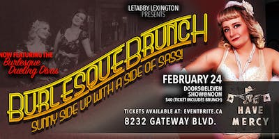 Have Mercy Presents Dueling Divas Burlesque Brunch- February 24th
