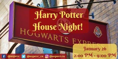 Harry Potter House Night