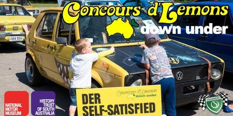 2019 Concours d'Lemons Down Under tickets