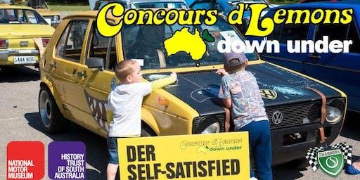 2019 Concours d'Lemons Down Under