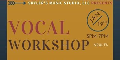Vocal Workshop   Adults
