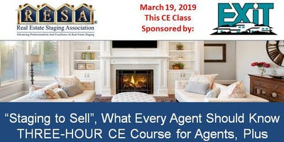 Staging to Sell | What Every Agent Should Know | March 19th